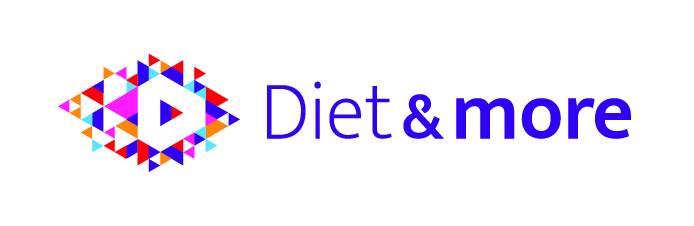 Diet and More - logo - CMYK